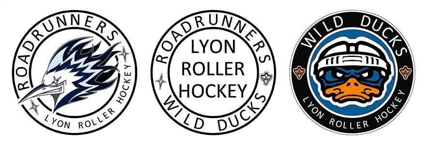 Illustration du sport Roller Hockey
